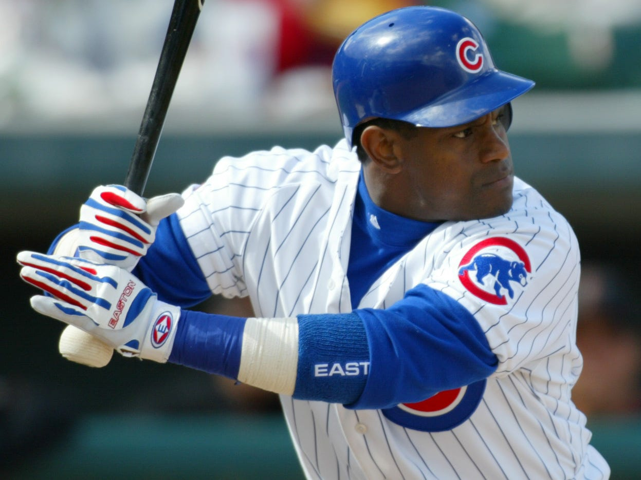 OF Sammy Sosa (7th year)