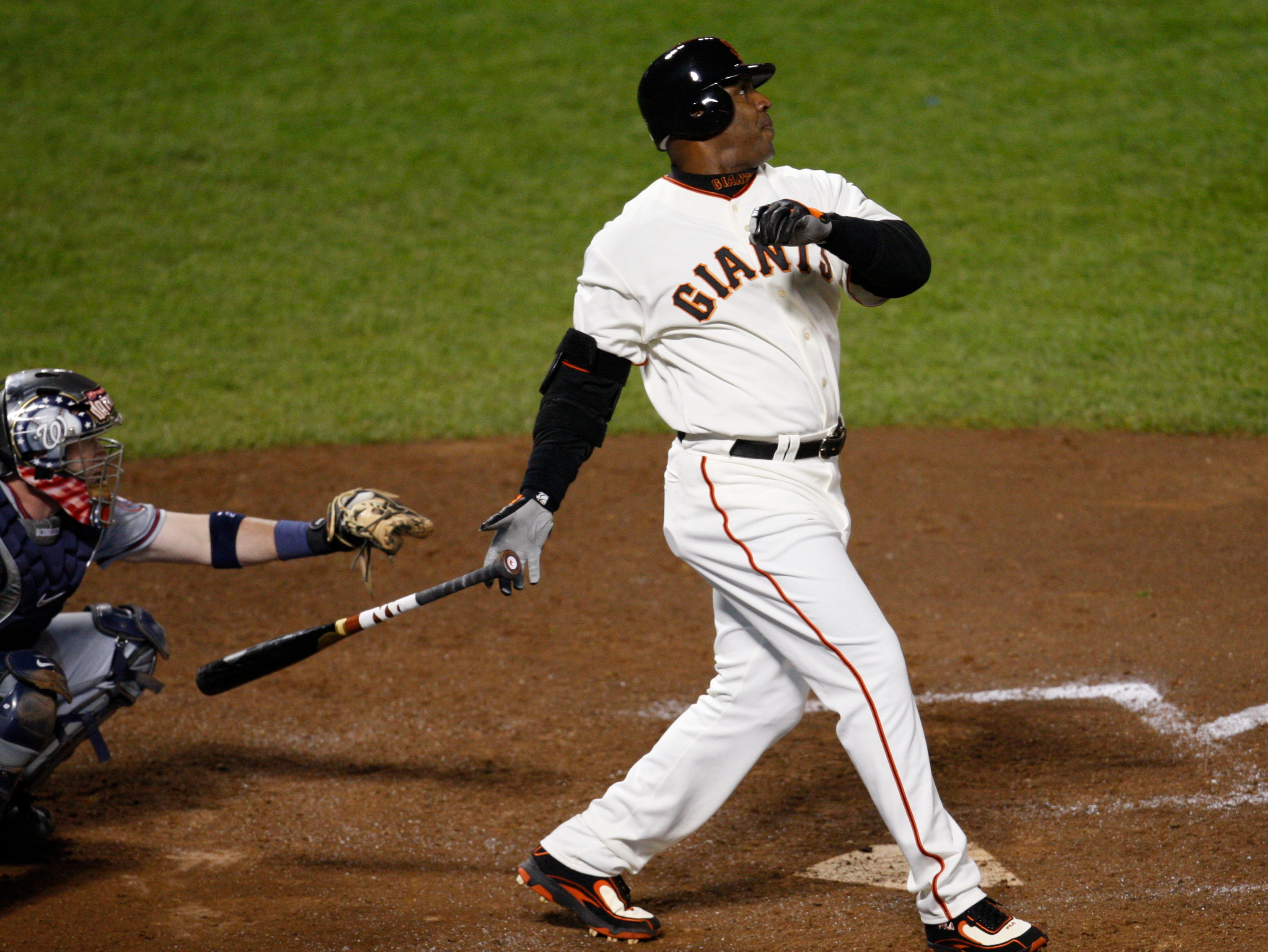 LF Barry Bonds (7th year)