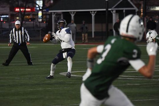 Mater Dei Prep quarterback Rob McCoy will be a key player for the Seraphs Saturday when they meet Red Bank Catholic in the NJSIAA Non-Public Group III championship game.