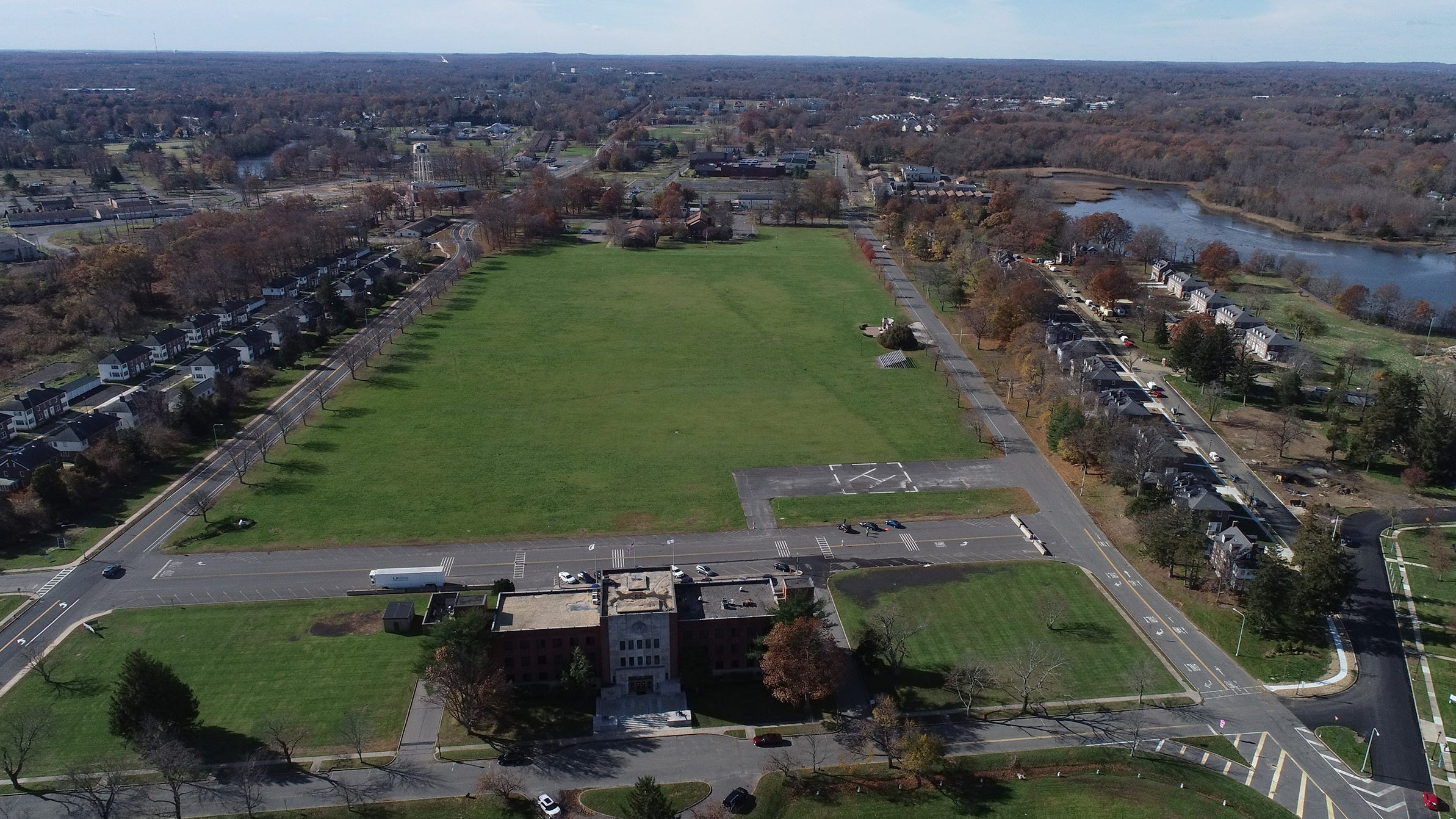 Fort Monmouth, a sky view: Must-see drone video of redevelopment, landmarks