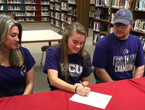 Madison's Savannah Rice signs with Division I program
