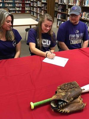 Madison's Savannah Rice signs to play softball at WCU
