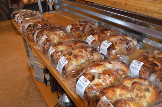 In 2017, Cornwell's Turkeyville introduced a breakfast bread that involves baking two pieces of pie into a loaf of bread. It comes in four flavors: rhubarb, cherry, blueberry and apple.