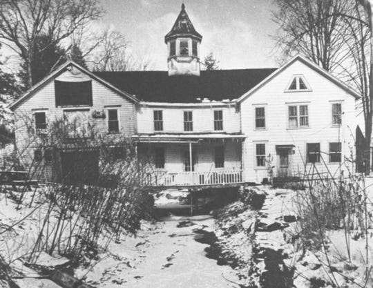 The coach house of the sanitarium, now a private residence.