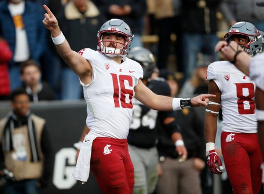 Washington State's surprise run to the top of the Pac-12 North has been fueled by the team's ability to enjoy the ride. Few have enjoyed it more than record-setting quarterback Gardner Minshew.