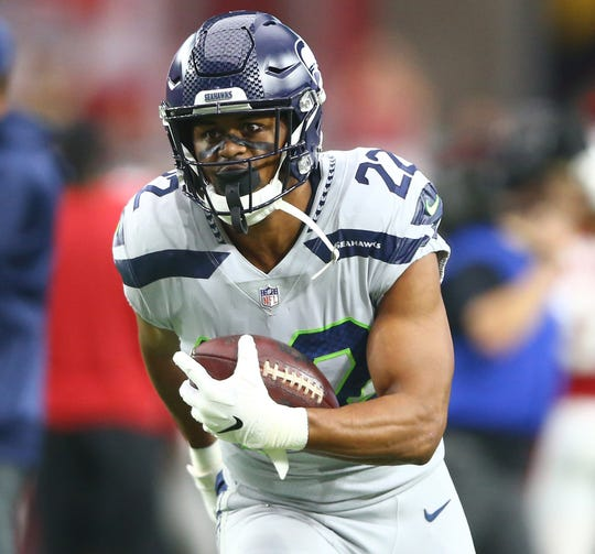 The Seahawks will have to make a decision about running back C.J. Prosise, who has played sparingly this season. J.D. McKissic, who plays a similar role, is expected to return to the active roster in the next few weeks.