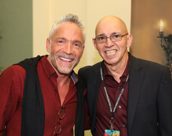 For 25 years, Roland Guilarte, right, has been bringing world-class performers such as saxophonist Dave Koz to the Space Coast with his Brevard Music Group.