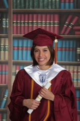 Kristina Correa graduated as valedictorian from Tuloso-Midway High School in 2015.