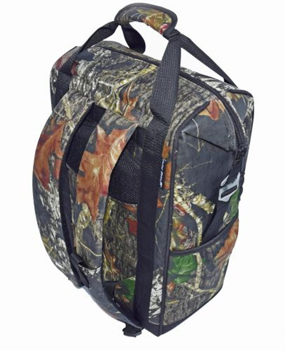 Polar Bear soft-sided coolers come in many sizes and colors, including this camo backpack cooler.