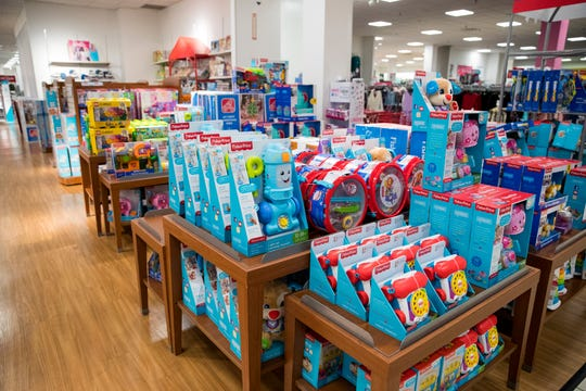 JCPenney has a large selection of children's toys, many of which will be 50 percent off on Black Friday. The store, located at La Palmera mall, will open at 2 p.m. on Thanksgiving.