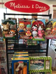 Everything Christmas carries a wide selection of Melissa & Doug, the Elf on the Shelf and other toy items.