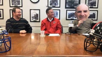 Reporters Mark Trible, Josh Friedman and special guest Tim McAneney review championship week , look ahead to the Thanksgiving Day games and field questions from viewers.