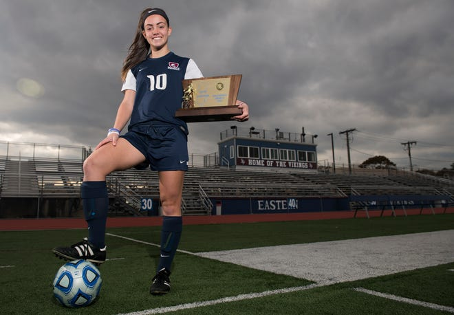 Eastern's Kelli McGroarty is the Courier-Post's girls' soccer player of the year.