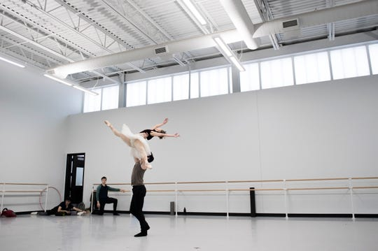 "For Ian Hussey, the historic production ""The Nutcracker'' has provided plenty of memories as he ascended the ranks from a young student to an apprentice and eventually to principal dancer. He's shown here rehearsing with Yuka Iseda."