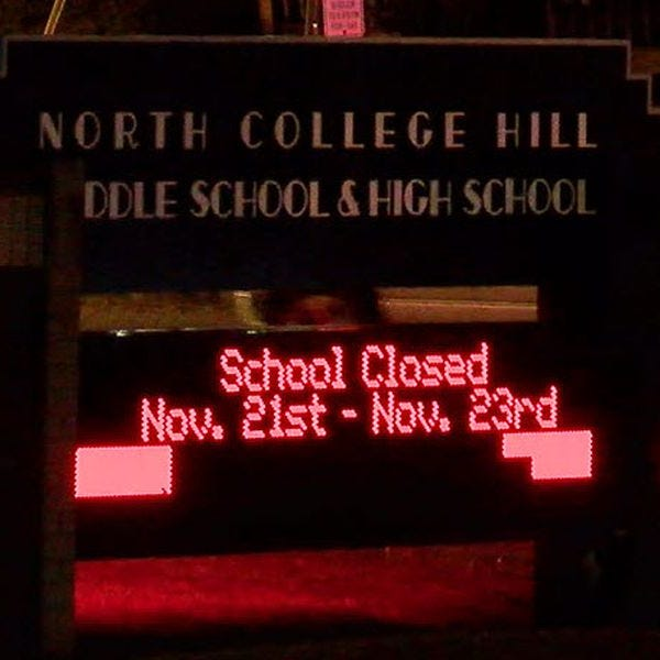 Arrest, charges pending after sexual video spreads at North College Hill High School