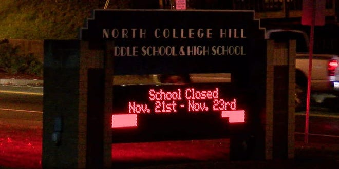 Police are investigating after they say a sexual video was spread around North College Hill High School.