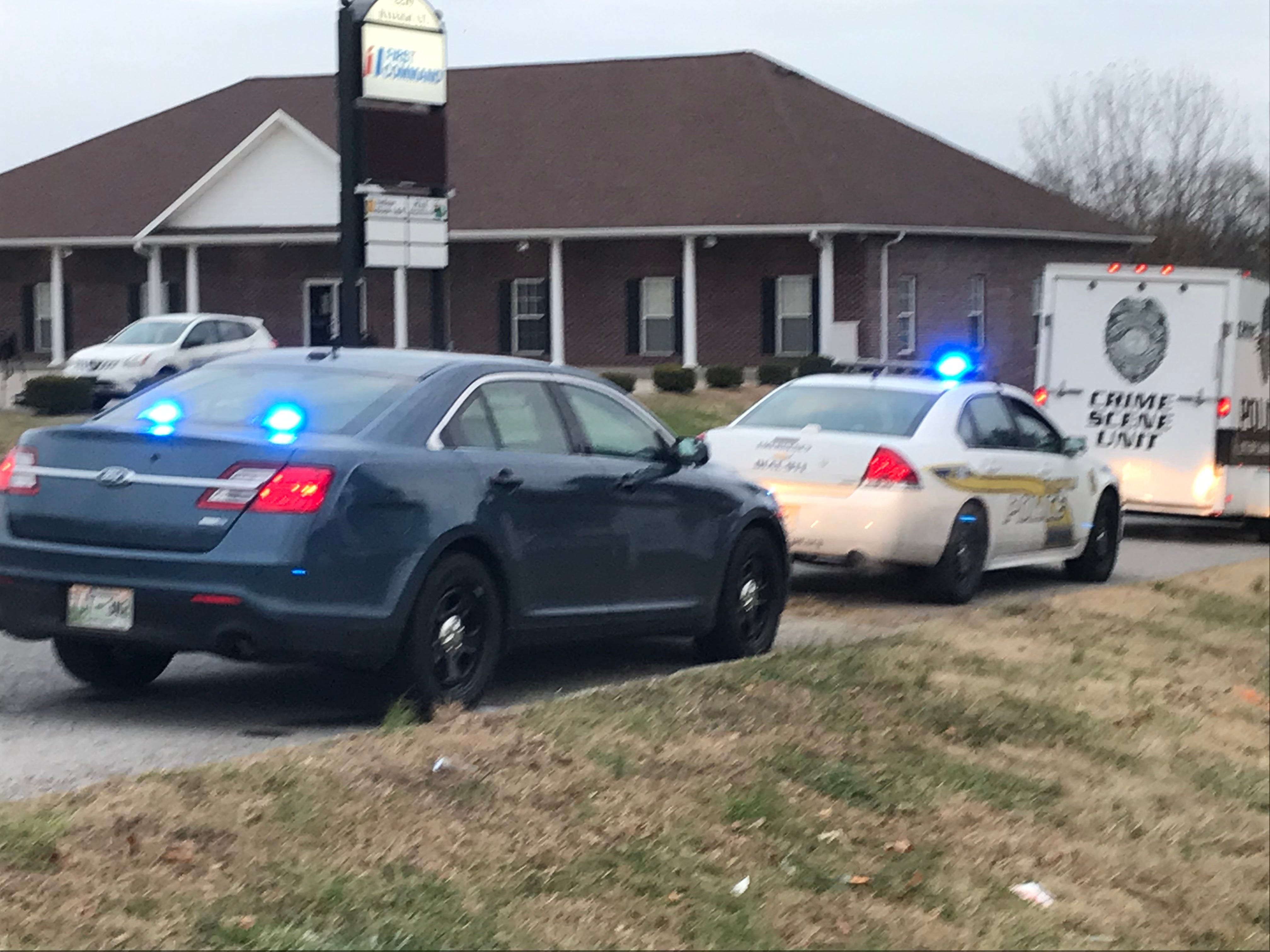 Clarksville Police investigate a fatal crash and shooting on Warfield Boulevard near Raleigh Court early Tuesday morning