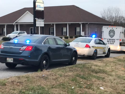 Clarksville shooting: Driver killed, car overturned on