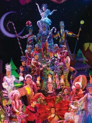 State Theatre New Jersey in New Brunswick will present Cirque Dreams Holidaze at 8 p.m. on Friday, Dec. 7; 2 and 8 p.m. Saturday, Dec. 8; and 2 p.m. Sunday, Dec. 9.