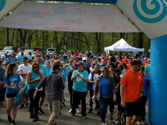 The American Lung Association's next 'Lung Force Walk' in New Jersey will take place at Duke Island Park in Bridgewater on May 4th, 2019