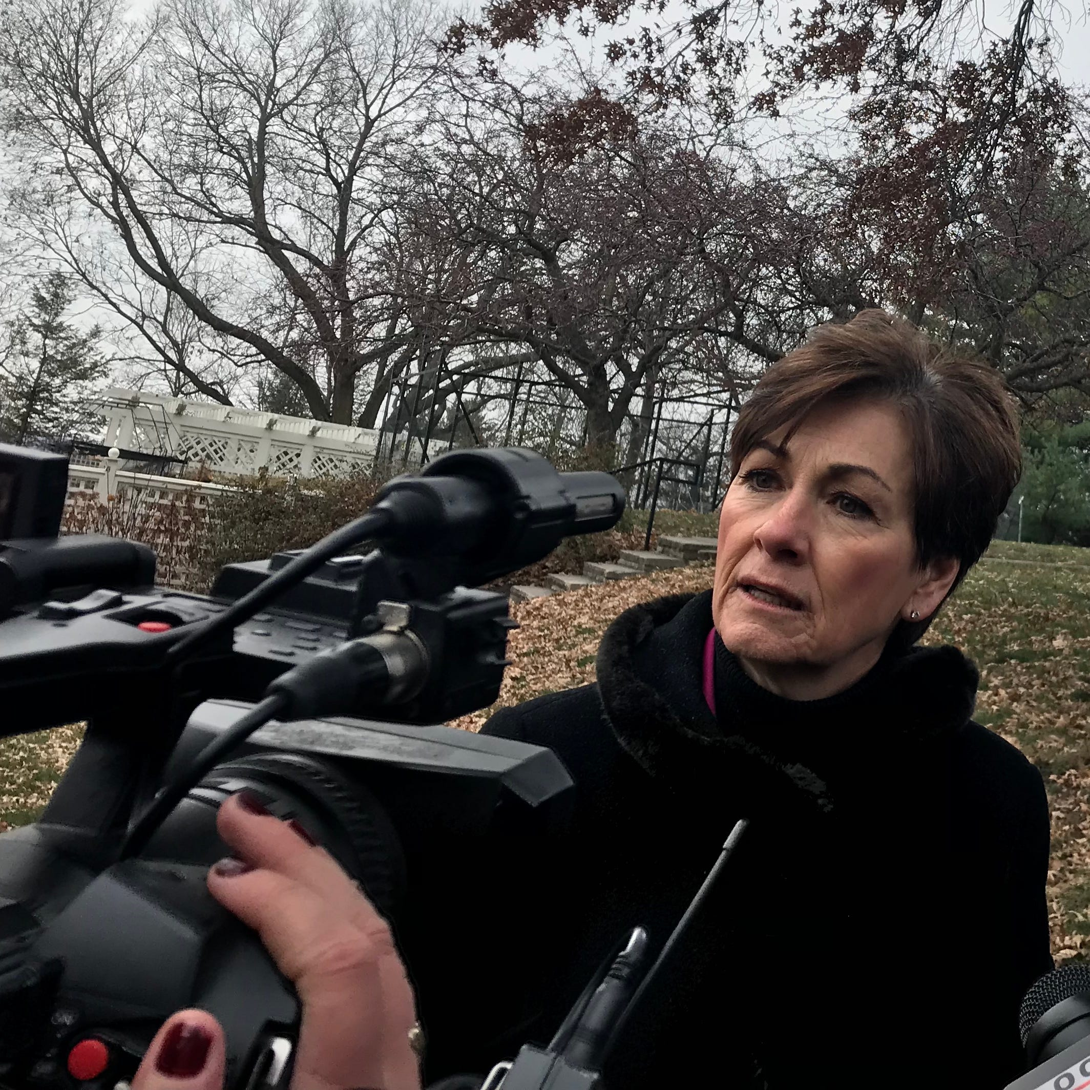 Gov. Kim Reynolds says she's open to automatically restoring felon voting rights in Iowa