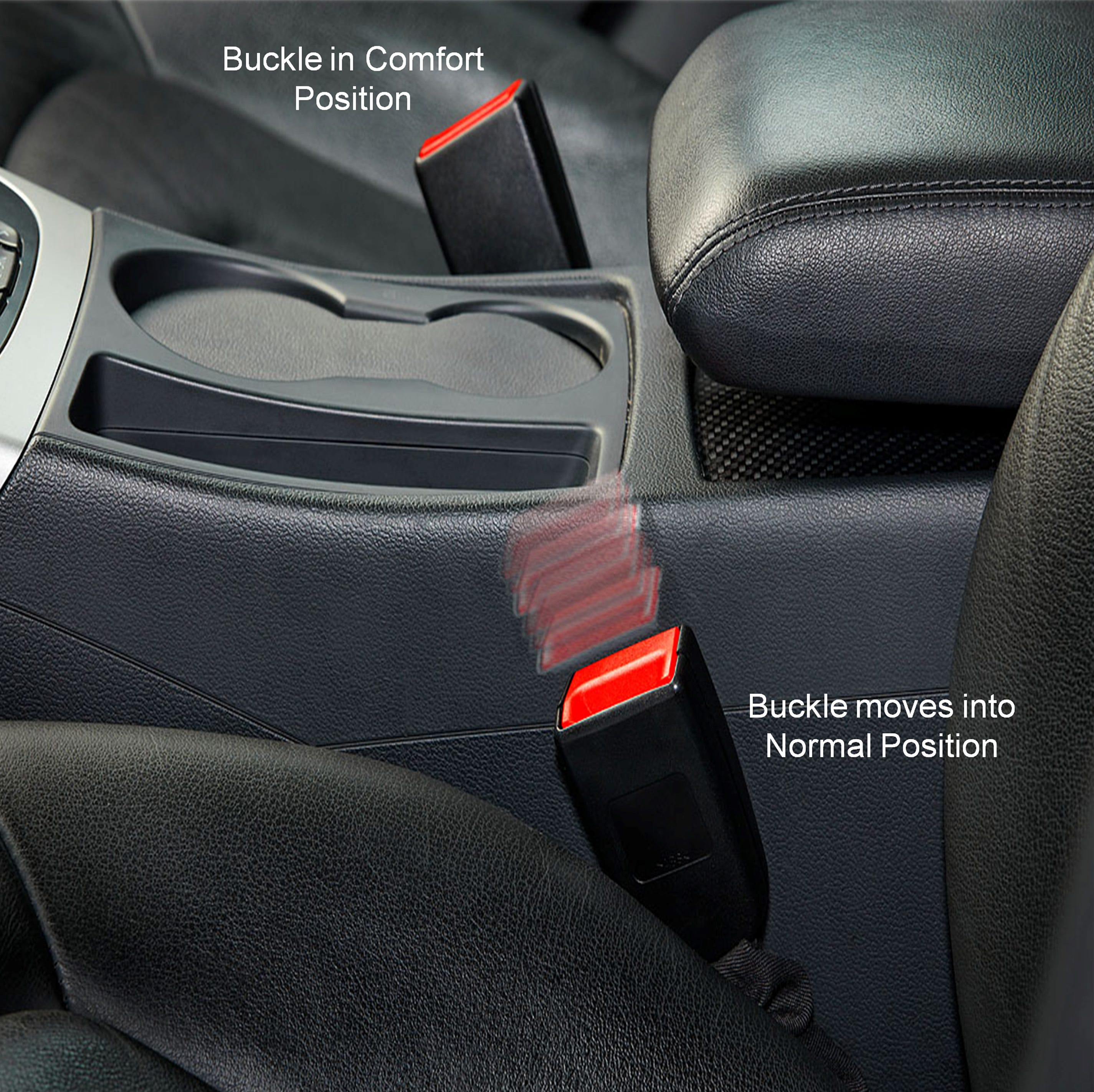 Your seat belt is in the wrong place. This new device fixes that