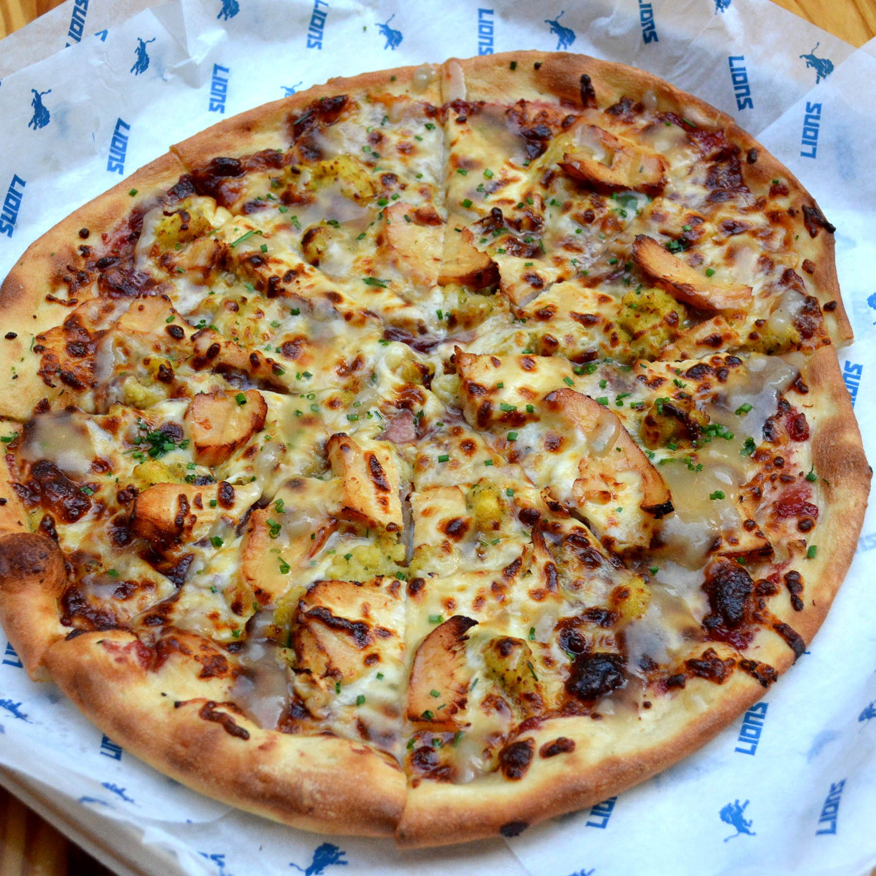 Ford Field to serve Thanksgiving pizza during Detroit Lions game