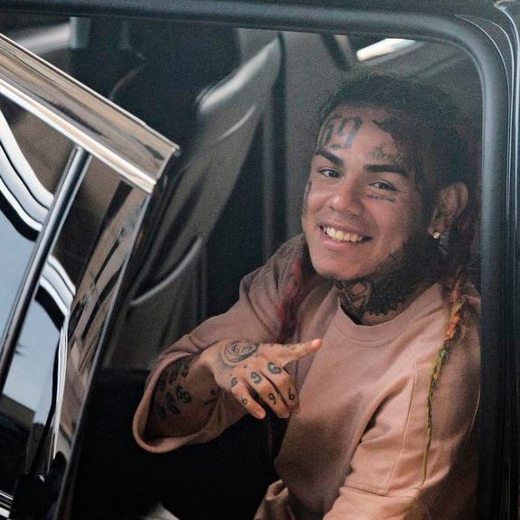 Grapevine: Tekashi 6ix9ine arrested for federal charges