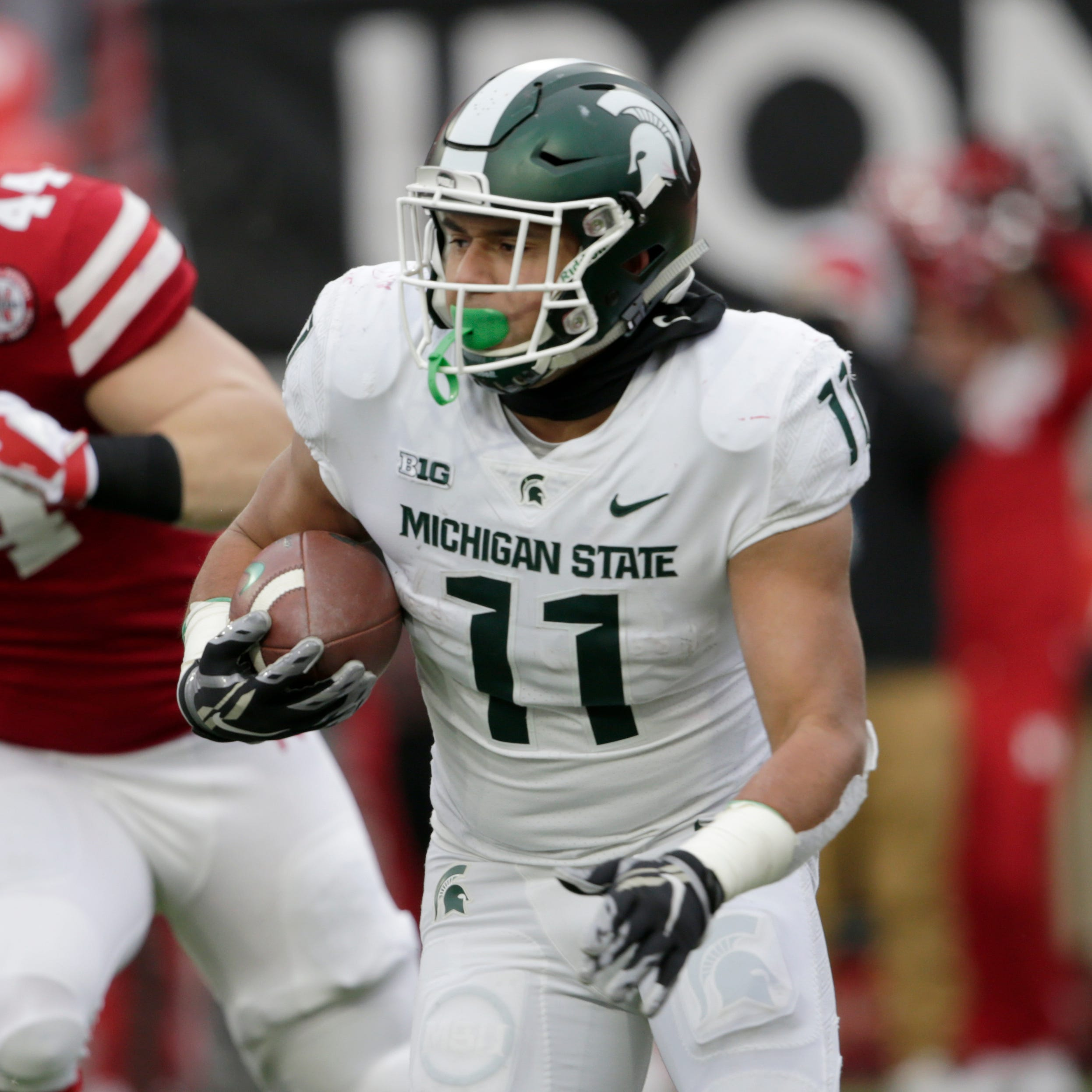 Why did Mark Dantonio, Michigan State abandon effective run game?
