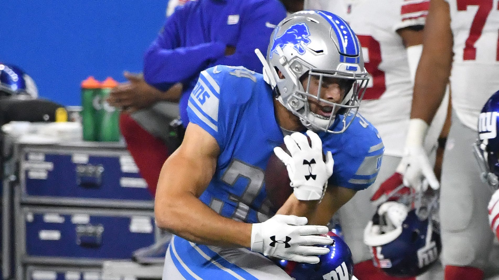 Kerryon Johnson's injury could open the door for Zach Zenner to see more work.