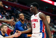 Detroit Pistons guard Khyri Thomas