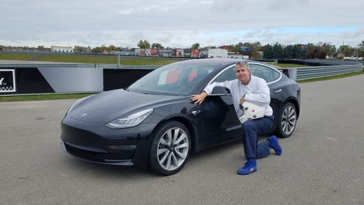 Detroit News auto critic Henry Payne put in his order for a Tesla Model 3 on April, 2016. His long-range, RWD toy arrived in fall, 2018.