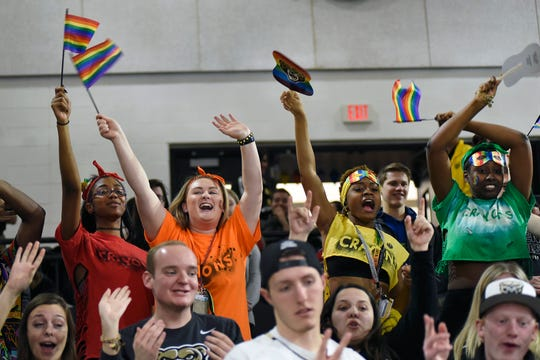 Oakland men's basksetball held its first-ever Pride Night on Monday.