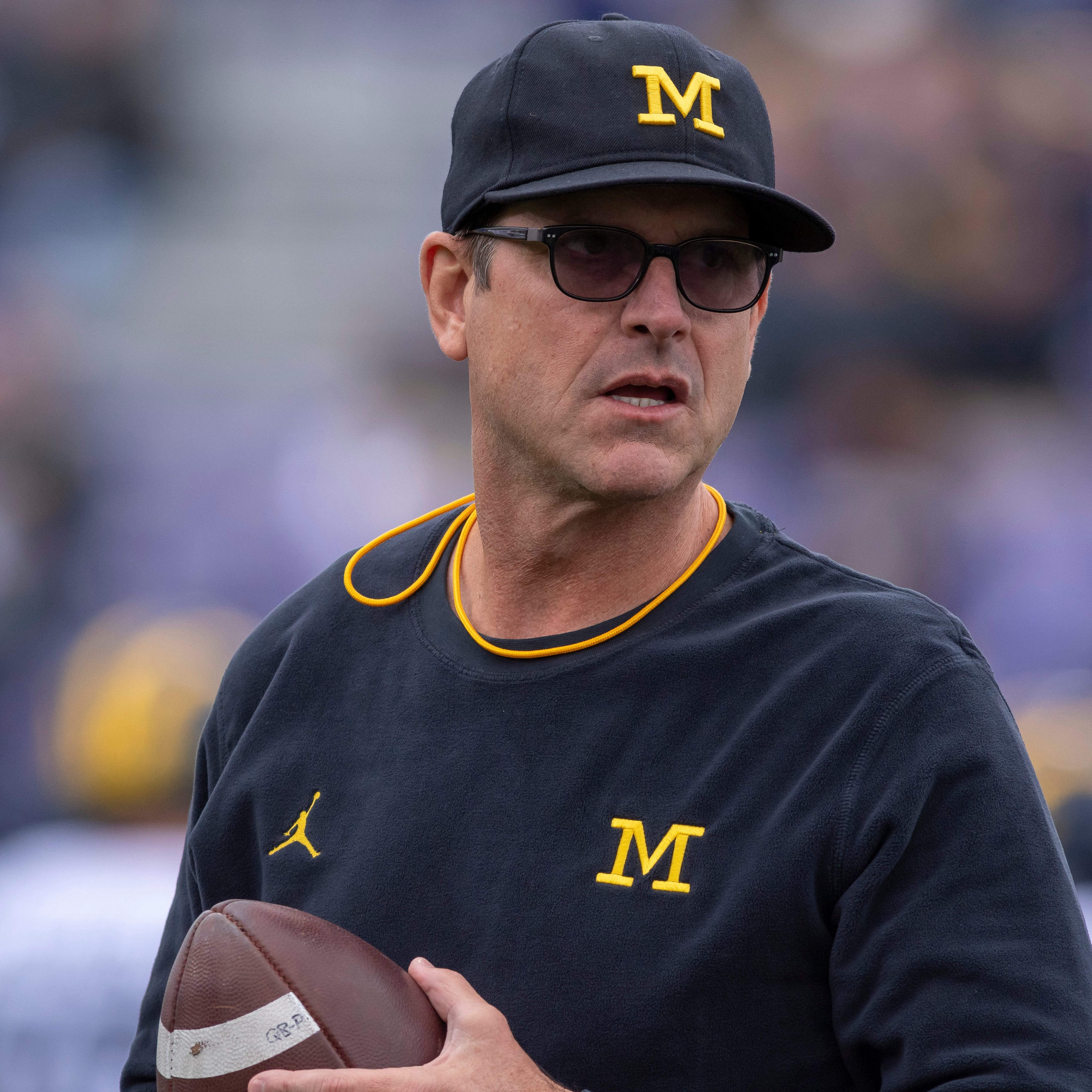 Jim Harbaugh: 'Doesn't get any bigger' than Michigan vs. Ohio State
