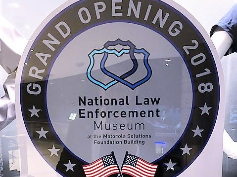 The new National Law Enforcement Museum opened recently in Washington, D.C.