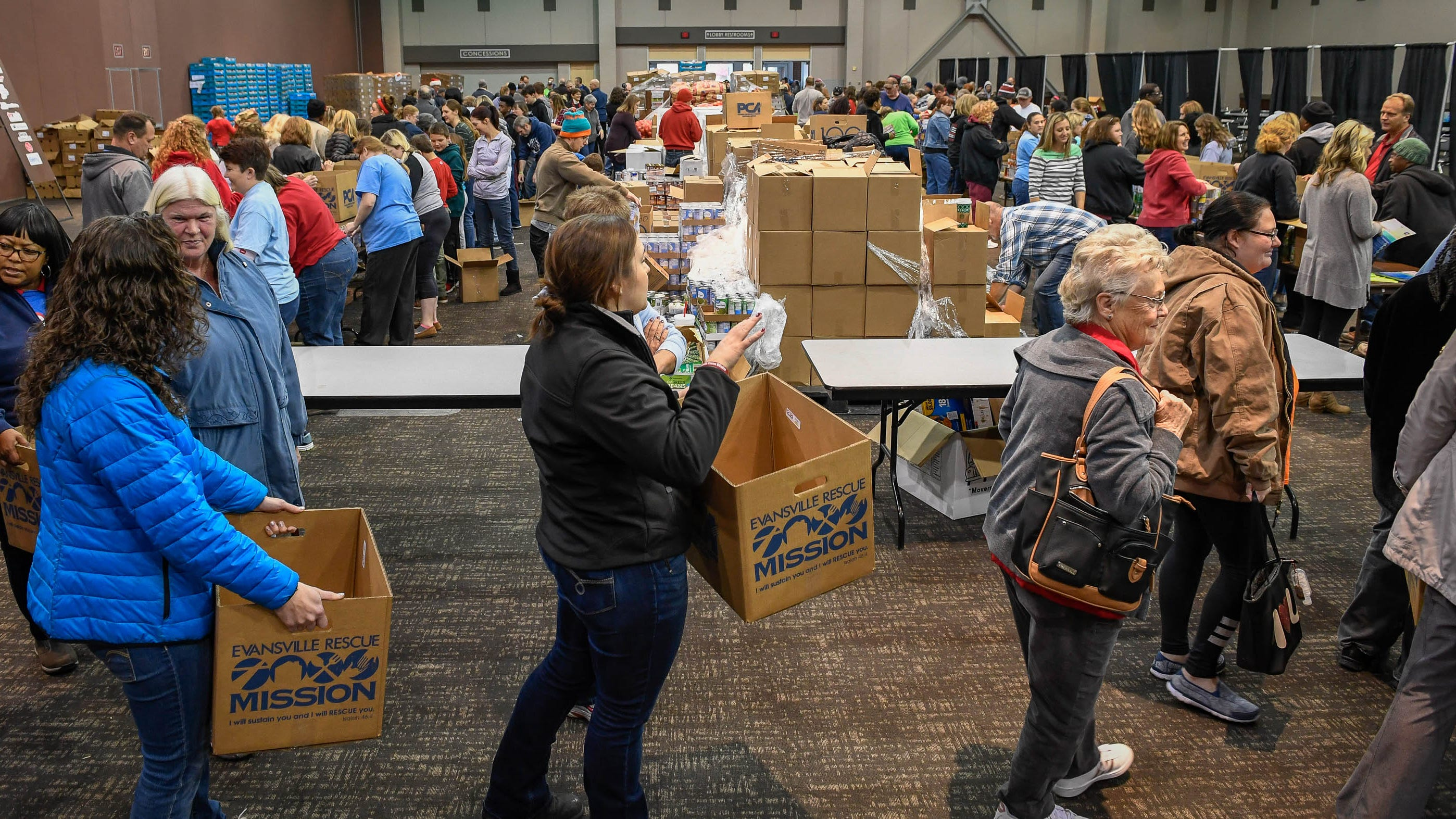 How you can help in Evansville this holiday season?