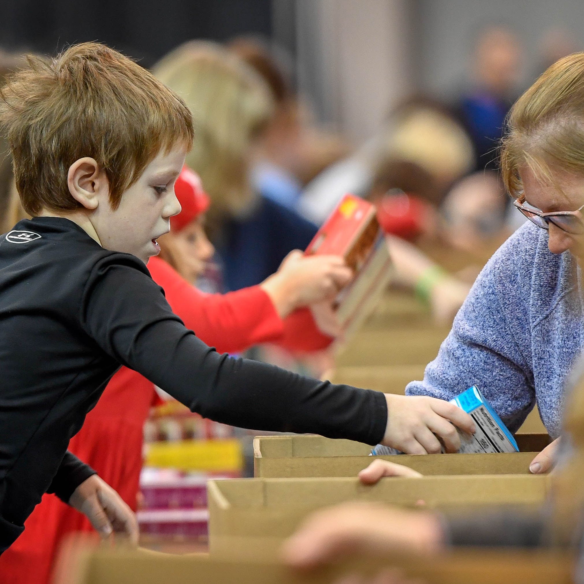 Evansville Rescue Mission feeds about 1,750 families during 96th Annual Gobbler Gathering