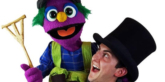 """Madcap Puppets present a version of """"A Christmas Carol"""" that is sure to delight children of all ages."""
