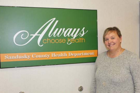 Sandsky County Health Commissioner Bethany Brown.
