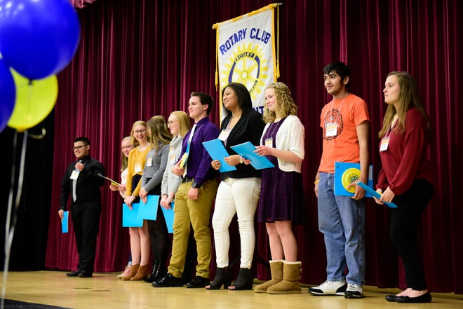 Fremont's Rotary International group celebrates the opening of an Interact club at Ross High School for students to develop leadership skills.