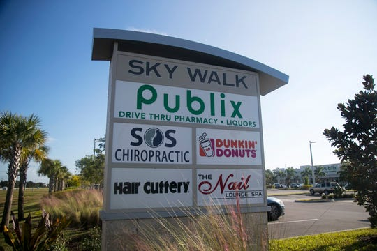 The Sky Walk shopping center, anchored by Publix, opened last year off Daniels Parkway.