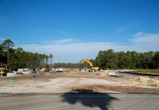 Skyplex Boulevard is under construction between Chamberlin Parkway and Daniels Parkway in south Fort Myers. The road will serve the Skyplex commerce park at Southwest Florida International Airport.