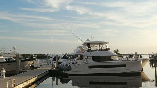 Offshore Sailing and Power Cruising School has added power catamaran training from its dock at The Westin.