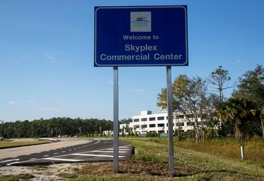 Skyplex commerce park at Southwest Florida International Airport.