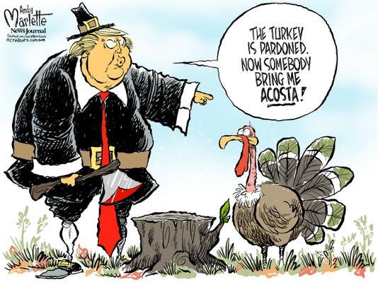 2018 11 19 Trump Turkey Day