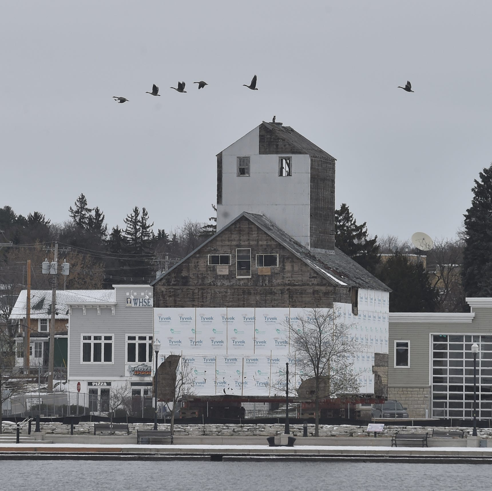 City Council nixes plan to move historic granary back to west side waterfront, for now