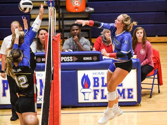 Pickens, St. Joseph's players named volleyball players of the year