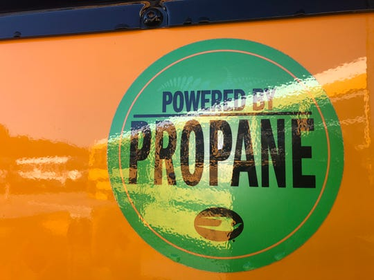 Greenville County Schools receives 21 new propane-powered buses.