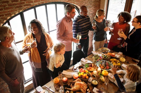 People Are Celebrating Thanksgiving Day