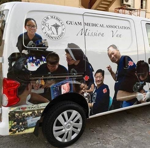 Stolen Guam Medical Association van found in Dededo